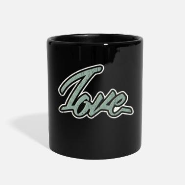 Tag Love tag graffiti tagging tagged gift christmas - Full Color Mug