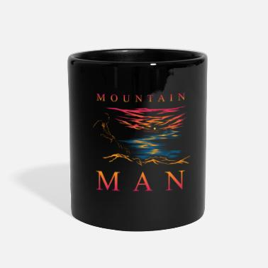Outdoor &amp Mountain Man Trekking Hiking Adventure Sport Shirt - Full Color Mug