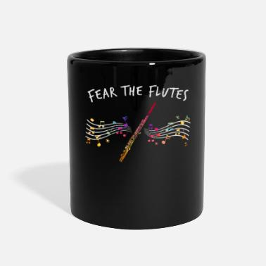 Piece Of Music Flute Piece of Music - Full Color Mug