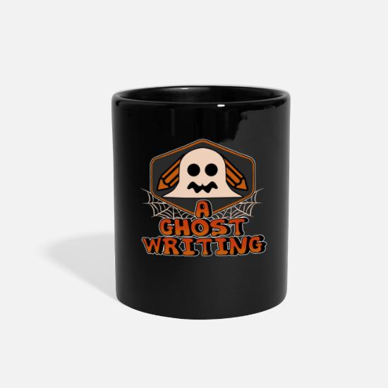 Writing Mugs & Drinkware - A Ghost Writing - Full Color Mug black