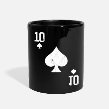 Pik Poker 10 Card Game Pik Vintage - Full Color Mug