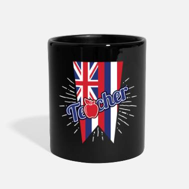 Grade Hawaii Teacher Gift - HI Teaching Home State Pride - Full Color Mug