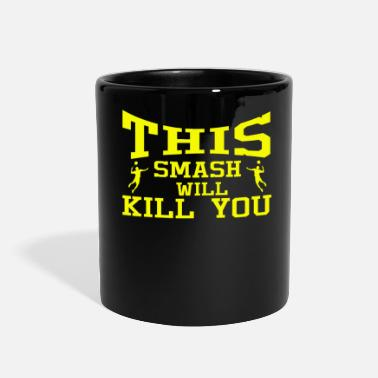 Bad Badminton Shuttlecock Game Bat Smash Gift - Full Color Mug