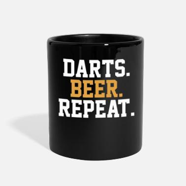 Bar Dart Beer Pub Bar - Full Color Mug
