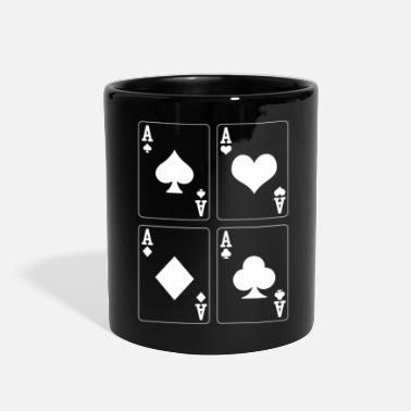 Poker Poker As - Full Color Mug
