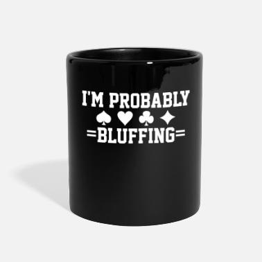 Bluff Poker Card Game Bluff - Full Color Mug