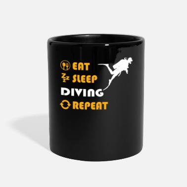 Scuba Diving - gift for men and women - Full Color Mug