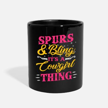 Spurs Spurs And Bling It's A Thing - Full Color Mug
