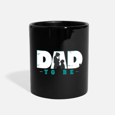 Pregnancy expectant father child future gift - Full Color Mug