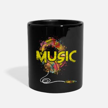 Music Club Music Genre Music Is Life Music Club Musical Gift - Full Color Mug