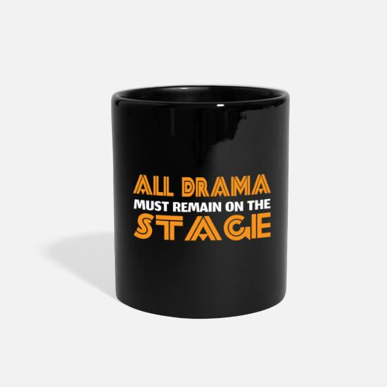 Theater Mugs & Drinkware - Opera Theater - Full Color Mug black