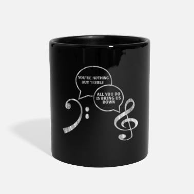 Concert Music Clef - Full Color Mug
