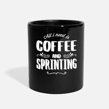 Sprinting Sprinting & Coffee - Full Color Mug