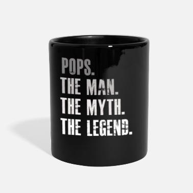 Man Pops The Man The Myth The Legend T shirt for men - Full Color Mug