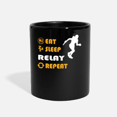 Sprinting Relay - gift for men and women - Full Color Mug