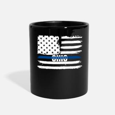 Captain OH Police Gift for Policeman, Cop or State - Full Color Mug