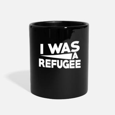 Affection We Are All Was A Refugee Gift Idea - Full Color Mug