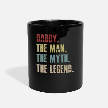 Daddy Daddy The Man The Myth The Legend T shirt for men - Full Color Mug