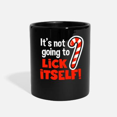 Evening Christmas It's Not Going To Lick Itself - Full Color Mug