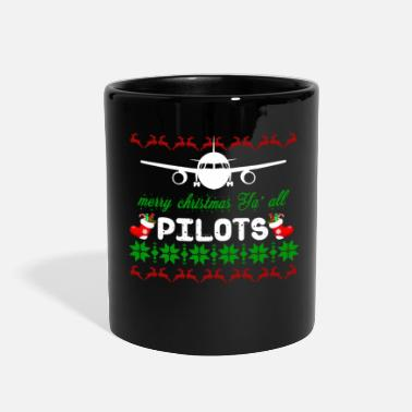 Pilot Pilot Captain Aircraft Airplane Christmas Gift - Full Color Mug
