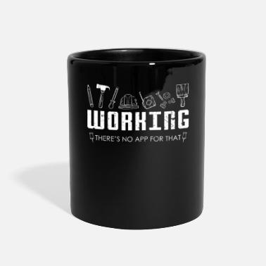 Building Construction Worker App - Full Color Mug