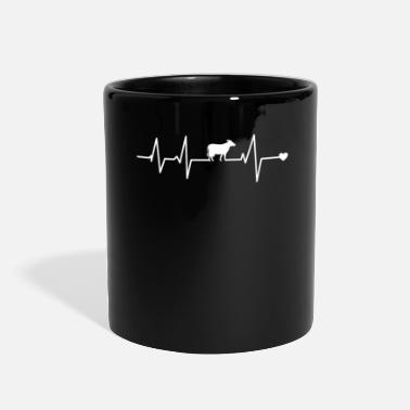 Cow Cow Heartbeat T Shirts Cow T Shirts - Full Color Mug
