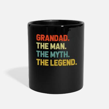 Grandad Grandad The Man The Myth The Legend Grandpa - Full Color Mug