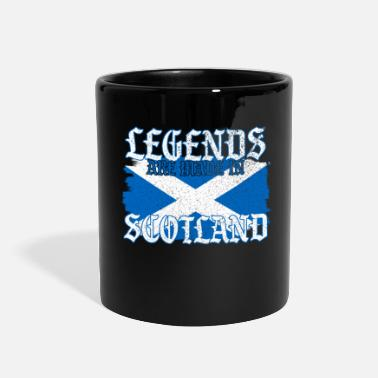 Clan Legends Are Born In Scotland Gift - Full Color Mug