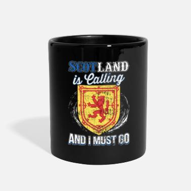 England Scotland Is Calling And I Must Go Gift Idea - Full Color Mug