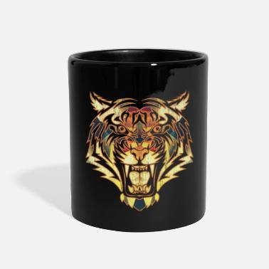 Safari tiger gift wilderness savannah wild - Full Color Mug