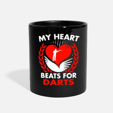 Darts My Heart Beats For Darts - Full Color Mug