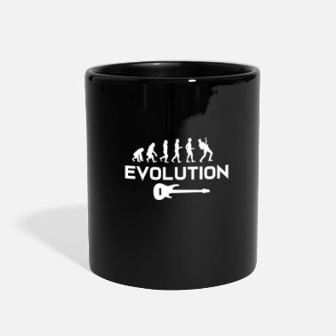Meeting Guitar Shirt - Guitarist - Music - evolution - Full Color Mug