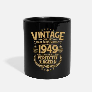 70th Birthday Vintage 70th Birthday Funny Tshirt 1969 Perfectly - Full Color Mug
