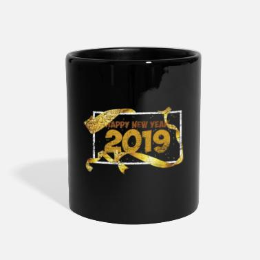 Right Happy New Year 2019 - Full Color Mug