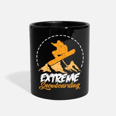 Snowboard extreme snowboarding - Full Color Mug