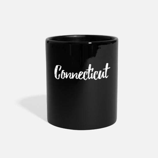 Connecticut Mugs & Drinkware - Connecticut - Full Color Mug black