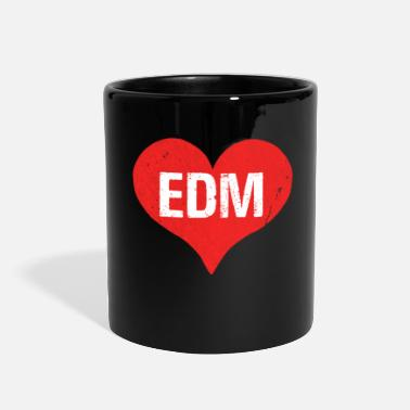 Electronic Dance Music EDM Electronic Dance Music is Love - Full Color Mug