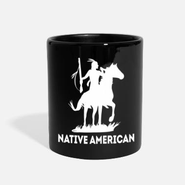 Mohawk native american - Full Color Mug