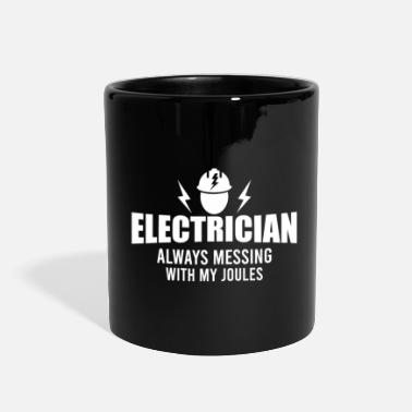 Electric Electricians - electricity & high voltage - Full Color Mug