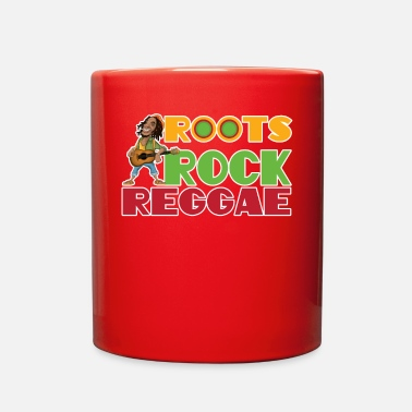 Roots Rock Reggae | Jamaican Rasta Stoner Roots - Full Color Mug