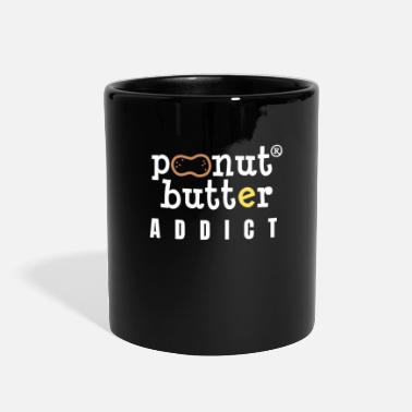 Peanut Butter Glutton Nutshell Empty Addict Cool - Full Color Mug