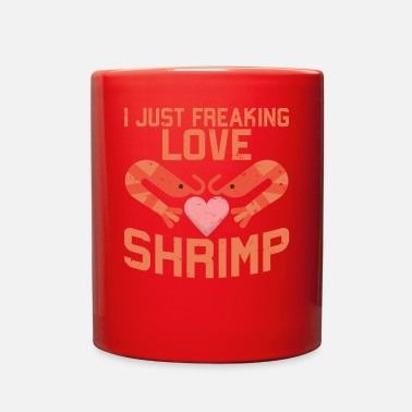 Shrimp Seafood Shrimp Lover - Full Color Mug