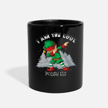 Dab I'm The Cool Polish Dabbing Elf - Full Color Mug