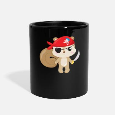Pirates Animal Pirates Animal Pirate Squirrel Pirate - Full Color Mug