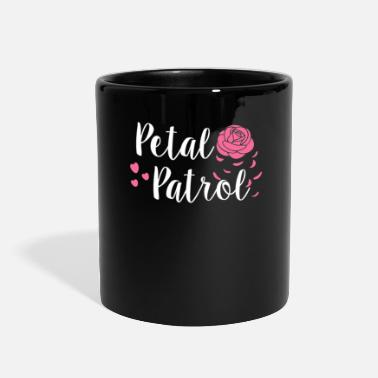 Flower Wedding Petal Patrol Flower Girl Wedding Party - Full Color Mug