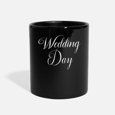 Wedding Day Wedding Word Art Wedding Day - Full Color Mug