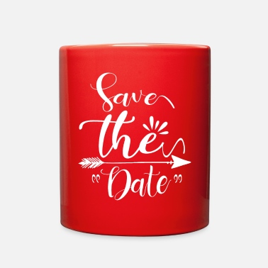 Pinup Wedding Quotes Save the Date Wedding Announcement - Full Color Mug