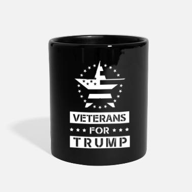 Army Wife Veterans For Trump - Veterans day gift - Full Color Mug