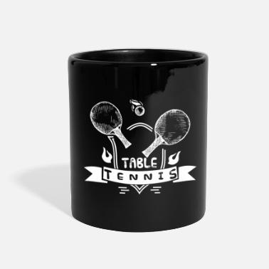 Court table tennis ping pong - Full Color Mug