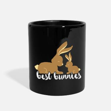 Best Friend And Best Bunnies - best friends - Full Color Mug